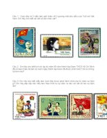 tim hiểu tem bưu chính