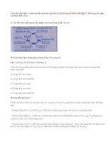 Bài 1,2,3,4 trang 41 SGK Hóa lớp 9: Mối quan hệ giữa các loại chất vô cơ