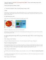 Giải bài 1,2,3,4 trang 44 SGK Sinh 8 : Máu và môi trường trong cơ thể