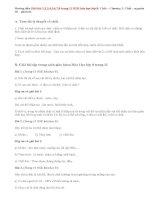 Giải bài 1,2,3,4,5,6,7,8 trang 11 SGK hóa học lớp 8: Chất