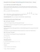 Giải bài 1,2,3,4,5,6,7,8 trang 37, 38 SGK Hóa lớp 8: Hóa trị