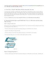 Giải bài C1,C2,C3, C4,C5,C6 trang 87,88,89 SGK Lý 9: Điều kiện xuất hiện dòng điện cảm ứng