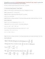 Giải bài 70,71,72,73,74,75,76 trang 40 SGK Toán 9 tập 1: Ôn tập chương 1