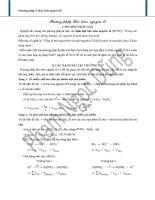 bài tập về phương pháp bảo toàn nguyên tố hóa học