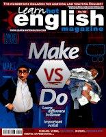 Learn hot english magazine  march 2016