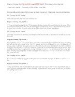 Giải bài 1,2,3 trang 36 SGK Sinh 9: Phát sinh giao tử và thụ tinh