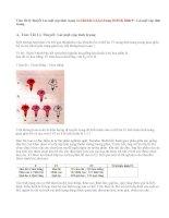 Giải bài 1,2,3,4 trang 10 SGK Sinh 9 : Lai một cặp tính trạng