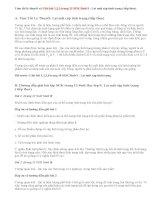 Giải bài 1,2,3 trang 13 SGK Sinh 9 : Lai một cặp tính trạng (tiếp theo)