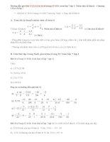 Bài 11,12,13,14,15,16 trang 12 SGK toán lớp 7 tập 1: Nhân chia số hữu tỉ