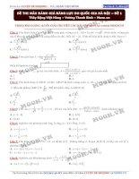 đề thi danh giá năng lực DHQGHN de 1 de thi(2016) toán