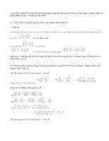 Giải bài 38,39, 40,41 trang 52, 53 SGK Toán 8 tập 1: Phép nhân các phân thức đại số