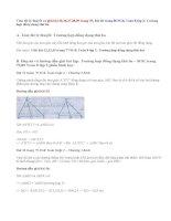 Giải bài 35,36,37 ,38,39,40 trang 79,80 SGK Toán 8 tập 2: Trường hợp đồng dạng thứ ba