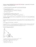 Giải bài 53,54,55 trang 87 SGK Toán 8 tập 2: Ứng dụng thực tế của tam giác đồng dạng