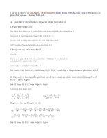 Giải bài 42,43, 44,45 trang 54,55 SGK Toán 8 tập 1:Phép chia các phân thức đại số