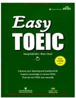 Sách giáo trình Easy TOEIC