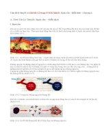 Giải bài 1,2 trang 47 SGK Sinh 8 : Bạch cầu  Miễn dịch