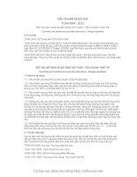 TCVN 5574 2012 kết cấu bêtông cốt thép   tiêu chuẩn thiết kế