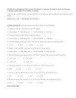 Đề kiểm tra 1 tiết hình học lớp 8 chương 1 mới nhất (Có đáp án)