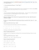 Giải bài 24, 25, 26 trang 63, 64 SGK Toán 7 tập 1: Hàm số