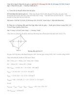 Giải bài 37,38, 39,40 trang 130, 131 SGK Toán 8 tập 1: Diện tích đa giác