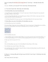 Giải bài 5,6,7, 8,9 trang 100 SGK Toán 8 tập 2: Hình hộp chữ nhật (tiếp theo)