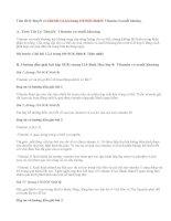 Giải bài 1,2,3,4 trang 110 SGK Sinh 8: Vitamin và muối khoáng