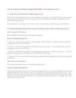 Giải bài 1,2 trang 42 SGK Sinh 6 : Bài 12 Biến dạng của rễ
