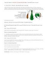 Giải bài 1,2 trang 104 SGK Sinh 6: Thụ tinh kết quả và tạo hạt