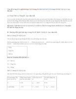 Giải bài C1,C2,C3, C4,C5,C6 trang 31,32 SGK Lý 6: Lực đàn hồi