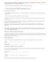 Giải bài 1,2,3,4 trang 7,8,9 SGK Toán 7 tập 2: Thu thập số liệu thống kê, tần số