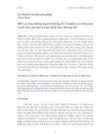 Đôi vai của những người khổng lồ: Claude Levi-Strauss và di sản của ông trong nhân học đương đại