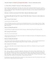 Giải bài 1,2,3 trang 95 SGK Sinh 6: Cấu tạo và chức năng của hoa
