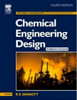 Coulson  Richardson's  Chemical Engineering Volume 6 (solution)