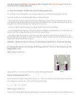 Giải bài C1,C2,C3, C4,C5,C6 trang 15,16,17 SGK Lý 6: Đo thể tích vật rắn không thấm nước