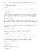 Giải bài 10,11,12,13,14 trang 32 SGK Toán 7 tập 2: Đơn thức