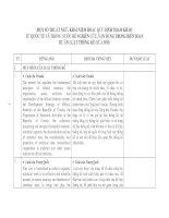 MỘT SỐ THUẬT NGỮ, KHÁI NIỆM HOẶC QUY ĐỊNH THAM KHẢO TỪ QUỐC TẾ VÀ TRONG NƯỚC ĐỂ NGHIÊN CỨU, VẬN DỤNG TRONG BIÊN SOẠN DỰ ÁN LUẬT THỐNG KÊ (SỬA ĐỔI)