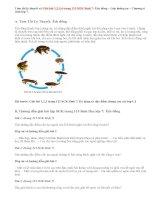Giải bài 1,2,3,4 trang 115 SGK Sinh 7: Ếch đồng