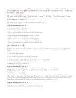 Giải bài 1,2,3, 4,5,6 trang 54,55 SGK Lý 6: Tổng kết chương 1 Cơ học  Vận dụng