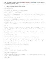 Giải bài 6,7,8,9,10 trang 70, 71 SGK Toán 6 tập 1: Tập hợp các số nguyên