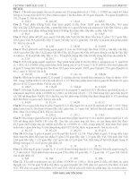 100 BÀI TẬP AMINOAXIT, PEPTIT HAY VÀ KHÓ