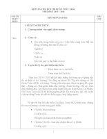 Kịch bản đại hội đoàn chi đoàn