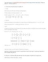 Giải bài 58,59,60, 61,62 trang 33,34 SGK Toán 6 tập 2: Phép trừ phân số