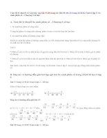 Giải bài 37,38,39, 40,41 trang 23,24 SGK Toán 6 tập 2: So sánh phân số
