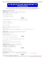 Moon vn    Tập hợp và các phép toán về tập hợp (phần 1)