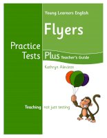 Practice tests plus flyers TB