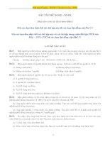 bài tập đề nghị XSTK ôn thi cao học 2008
