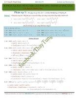 10 phản xạ khi giải phương trình lượng giác thầy Nguyễn Thanh Tùng
