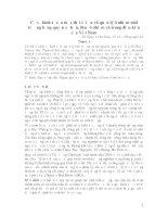 CƠ SƠ KINH TẾ QUẢN LÝ MÔI TRƯƠNG BẰNG QUYỀN SỞ HỮU VÀ THUẾ PIGOU -10-8-2007