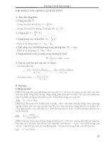 bài tập vật lý đại cương có lời giải
