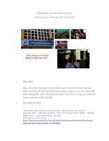 Bản kế hoạch chương trình từ thiện tặng quà cho trẻ em khuyết tật nhân dịp noel